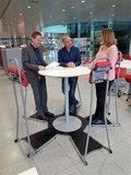 amc stand4work staan achter je bureau | ergonomisch kantoormeubilair | Worktrainer.nl