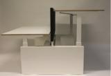 bureau met kleine wangen
