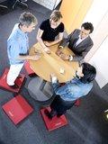 actieve stamat vergadering KyBounder Kybun stamat | kies voor een gezonde werkplek bezoek Worktrainer.nl