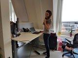 a270 zit sta bureau  | wissel staan en zitten achter je bureau af | Worktrainer.nl