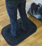 standup mat by matting zwart
