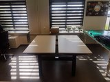 bench joob zwart frame   | wissel staan en zitten achter je bureau af | Worktrainer.nl
