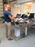 ultra slim standing desk