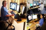Fietsen achter het bureau in het ziekenhuis Zweden l Deskbike bureaufiets | Fiets je fit achter je bureau | Worktrainer.nl