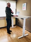 Zit-sta bureau A140 - Elektrisch_
