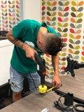 inbouwen contactdoos - inbouwunit power dot Evia inbouwmodule | accessoires voor je werkplek bezoek Worktrainer.nl