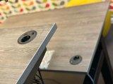 Bladen met stekkerdoos erin Evia inbouwmodule | accessoires voor je werkplek bezoek Worktrainer.nl