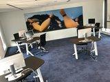 Y desk setting | kies voor een gezonde werkplek bezoek Worktrainer.nl