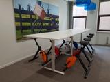 Vergader setting deskbike l Deskbike bureaufiets | Fiets je fit achter je bureau | Worktrainer.nl