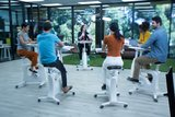 Vergadering fietsen Flexispot