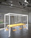 Schommel tafel kantoor vergadertafel | kies voor een gezonde werkplek bezoek Worktrainer.nl