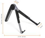 laptopstaandaard ergoline afmetingen | accessoires voor je werkplek bezoek Worktrainer.nl