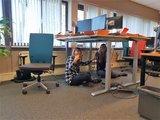 kabels wegwerken - zit-sta bureau