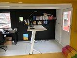 Zit sta bureau Y desk | kies voor een gezonde werkplek bezoek Worktrainer.nl