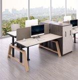 Oak desk workbench