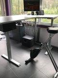 S470 hoek met Deskbike