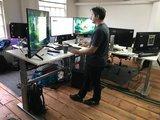 aluforce 270  | wissel staan en zitten achter je bureau af | Worktrainer.nl