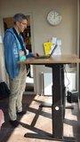 A270 zit-sta bureau  | wissel staan en zitten achter je bureau af | Worktrainer.nl