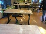 Zit-sta bureau A140 - Handslinger_