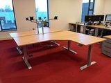 B-sky op hoekbureau | kies voor een gezonde werkplek bezoek Worktrainer.nl