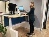 Body Mover balansbord zit-sta bureau| kies voor een gezonde werkplek bezoek Worktrainer.nl