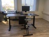 Aluforce 140 Deskbike | wissel staan en zitten achter je bureau af | Worktrainer.nl