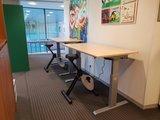 Aluforce 140 met Deskbike | wissel staan en zitten achter je bureau af | Worktrainer.nl