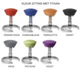 Kleuren zitting met Titaan