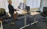 Steelforce 670 grijs frame | kies voor een gezonde werkplek bezoek Worktrainer.nl