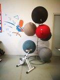 zitbal standaard  | kies voor een gezonde werkplek bezoek Worktrainer.nl