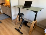 Oak Desk Zwart