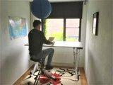 Y desk met Deskbike | kies voor een gezonde werkplek bezoek Worktrainer.nl