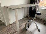 Honmove met Deskbike zit sta bureau | kies voor een gezonde werkplek bezoek Worktrainer.nl