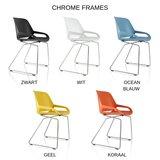 Kleuren Aeris Slede Chrome frame