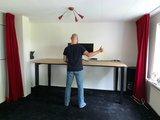 Honmove statafel zit sta bureau | kies voor een gezonde werkplek bezoek Worktrainer.nl