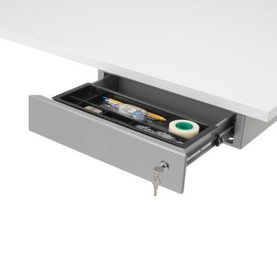 Accessoires voor de laatste fine tuning van je werkblad for Ladeblok onder bureau