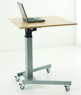 Zit-sta tafel 501/19 - Draadloos verstelbaar met wielen