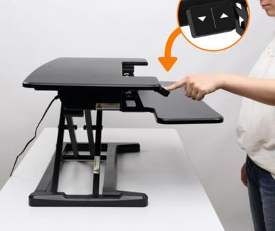 Zit-sta verhoger - UPdesk Cross -  Elektrisch