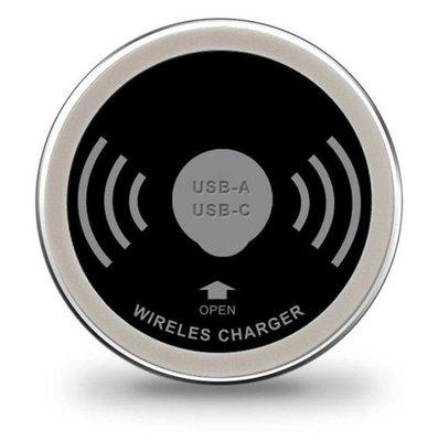 Inbouwunit oplader - inclusief USB-A en USB-C charger