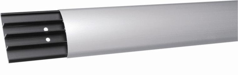 Vloergoot aluminium met kunststof