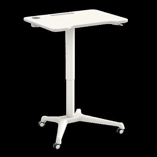 Klein gasveer zit-sta bureau - Single Leg Desk