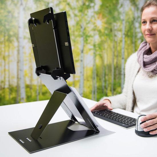 R-Go Riser Duo - Laptop en Tablet Standaard