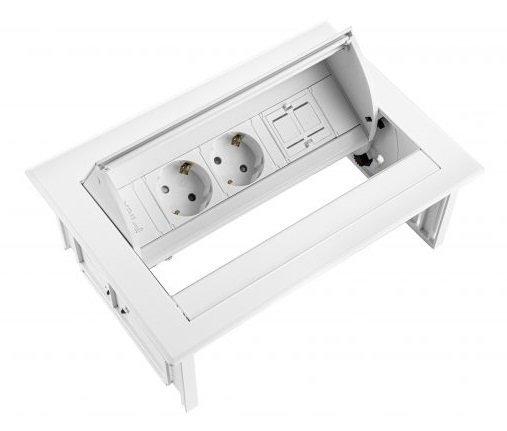 Inbouwunit - Power Desk In