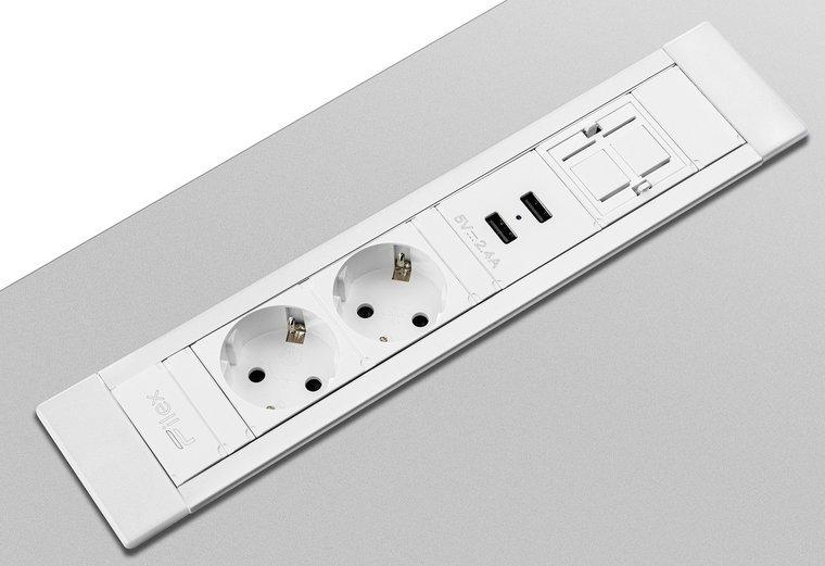 Inbouwunit - Power Desk Insert