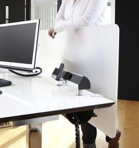 Tafelscherm - Plexiglas Worktrainer.nl