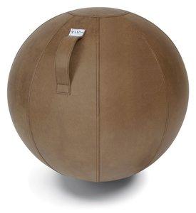 Cognac Vluv Veel zitbal sittingbal office chairball Worktrainer.com