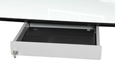 laptoplade afsluitbaar | accessoires voor je werkplek bezoek Worktrainer.nl