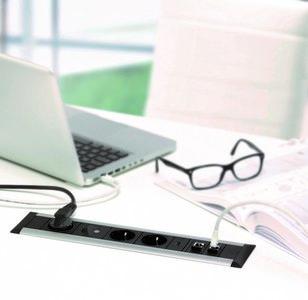 inbouw frame dock alle accessoires bij je zit-sta bureau koop je online bij Worktrainer.nl